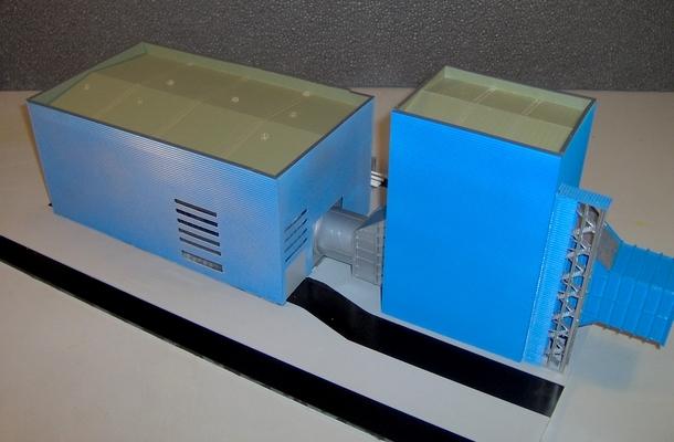 modello plastico architettonico