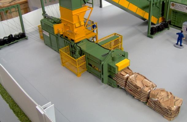 modello plastico macchinario industriale
