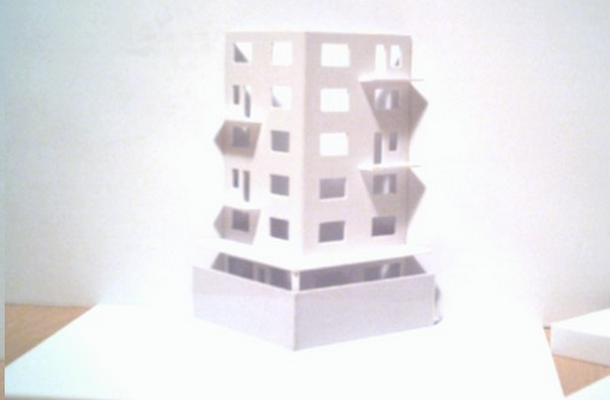 modelli plastici sezionati
