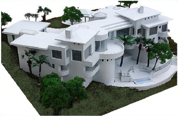 modello plastico architettonico realistico