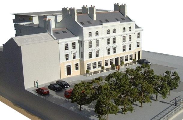 modello plastico architettonico residenziale