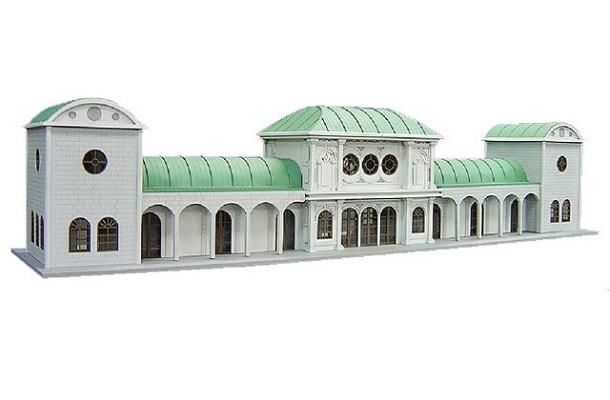 modello plastico architettonico storico