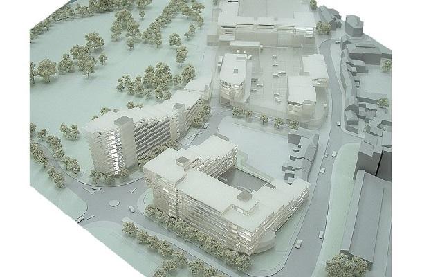 modello plastico architettonico urbanistico