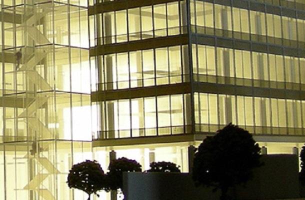 modello plastico illuminato residenziale