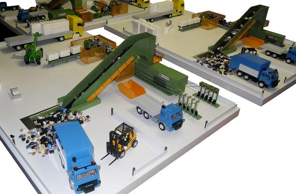 modello plastico realizzazione multipla industriale