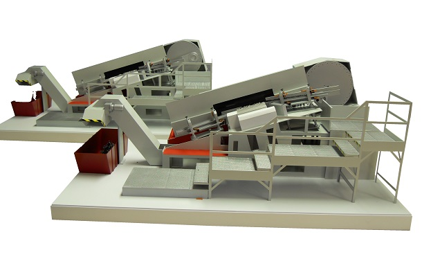 modello plastico realizzazione multipla macchinario dinamico meccanizzato