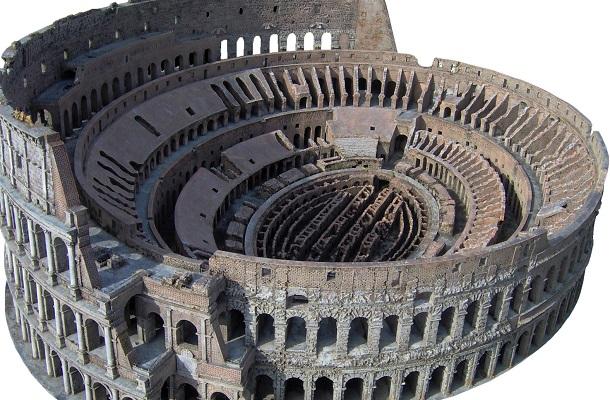 modello plastico storico antica roma