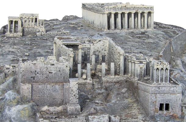 modello plastico storico civiltà greca