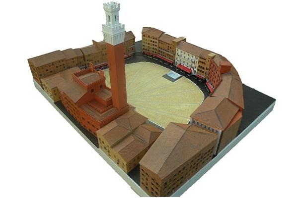 modello plastico storico riproduzione edifico