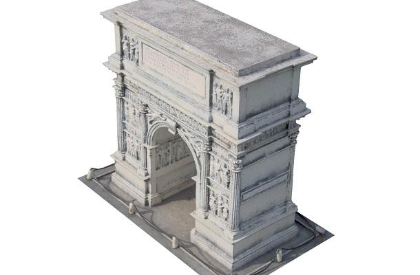 modello plastico storico riproduzione monumento