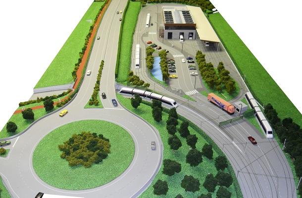 modello plastico trasporto ferroviario