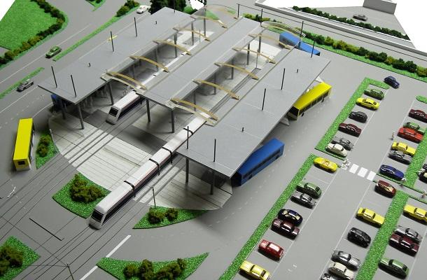 modello plastico trasporto urbano