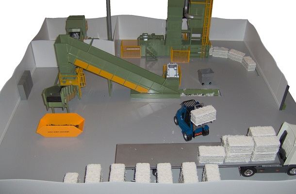 modello plastico impianto trattamento industriale documenti