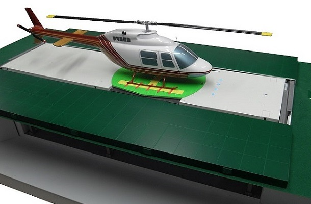 modello plastico veicolo aereo