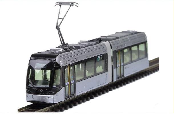 modello plastico veicolo ferroviario