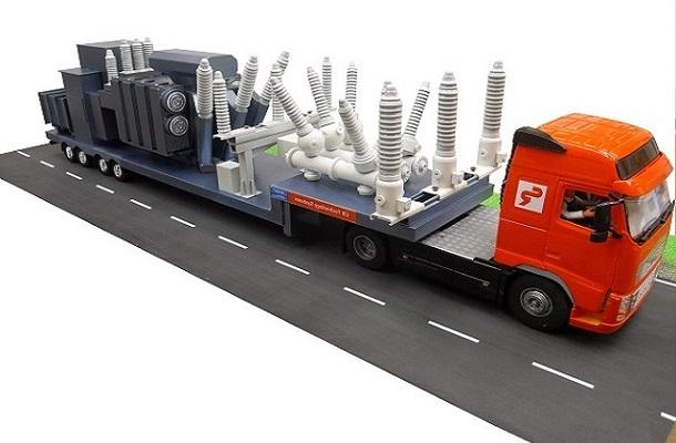 modello plastico veicolo industriale
