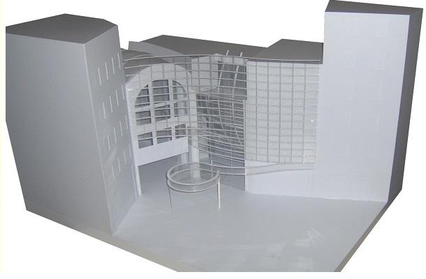 modello plastico volumetrico architettonico